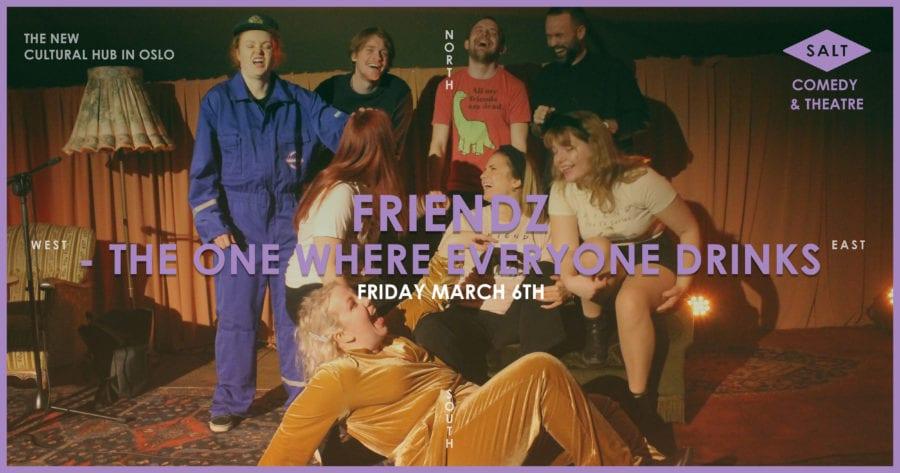 Friendz – The One Where Everyone Drinks hovedbilde