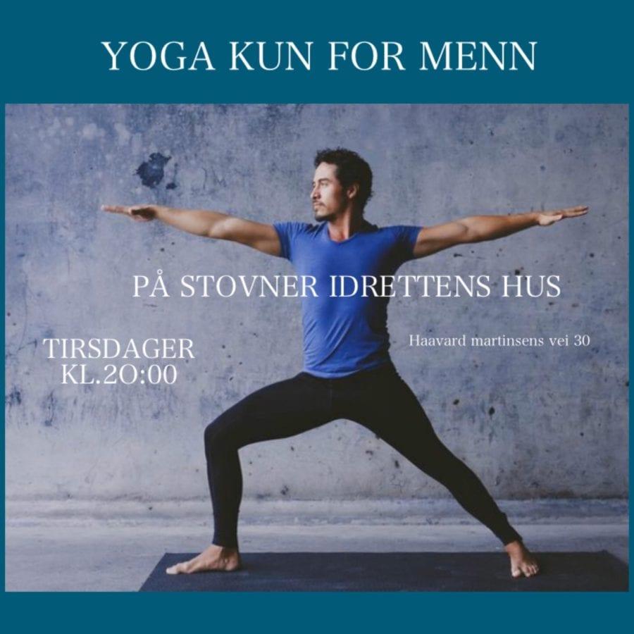 Eventbilde: Yoga for menn