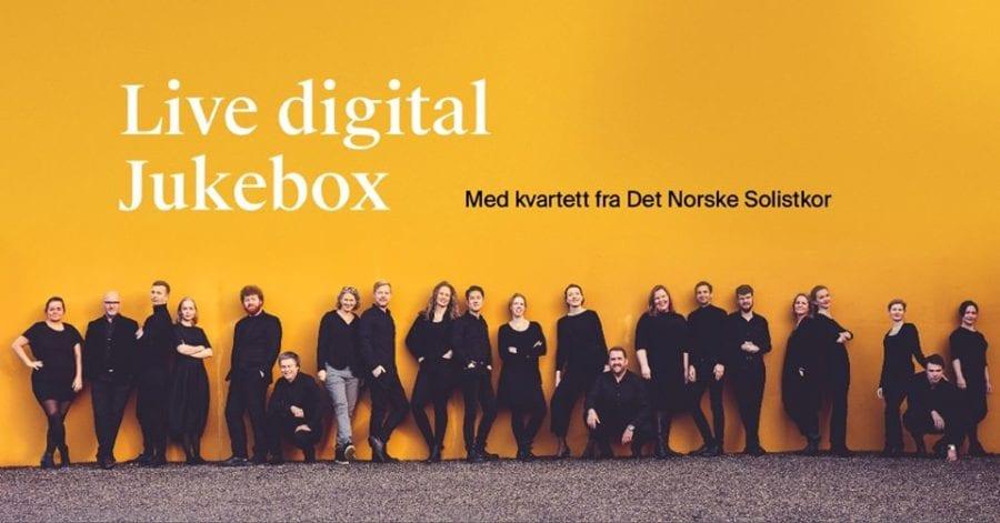 Live Jukebox med Det Norske Solistkor hovedbilde