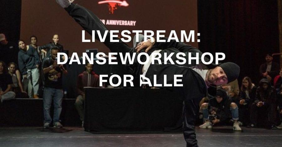 Livestream: danseworkshop for alle hovedbilde