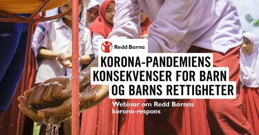 Webinar om Redd Barnas korona-respons hovedbilde