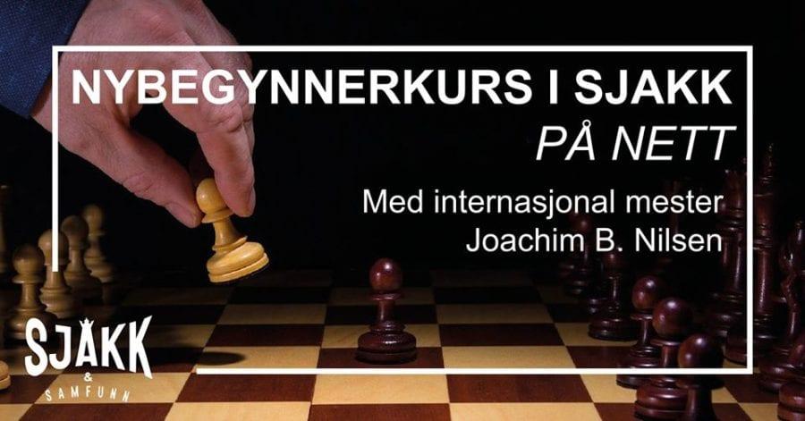 Online nybegynnerkurs i sjakk hovedbilde