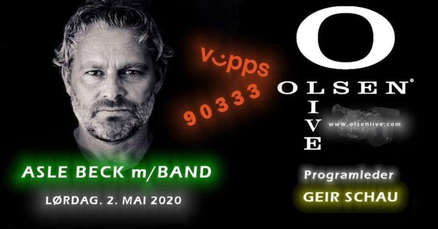 Asle Beck m/Band! Live sending hovedbilde