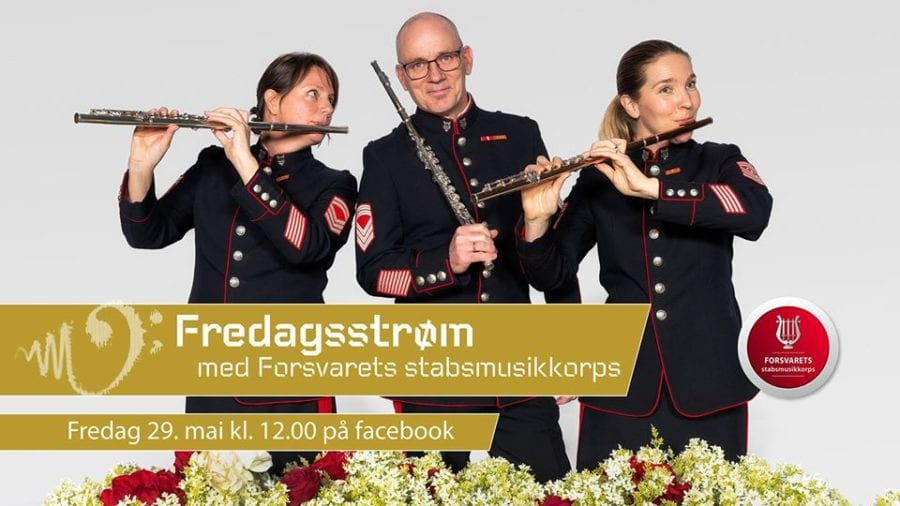 Eventbilde: Fredagsstrøm // Forsvarets stabsmusikkorps