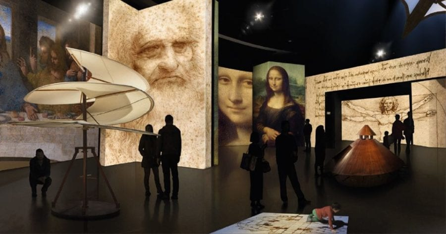 Leonardo Da Vinci – 500 Years Of Genius hovedbilde