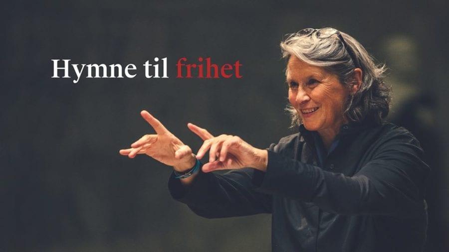 Eventbilde: Solistkoret & dirigent Grete Pedersen: Hymne til frihet