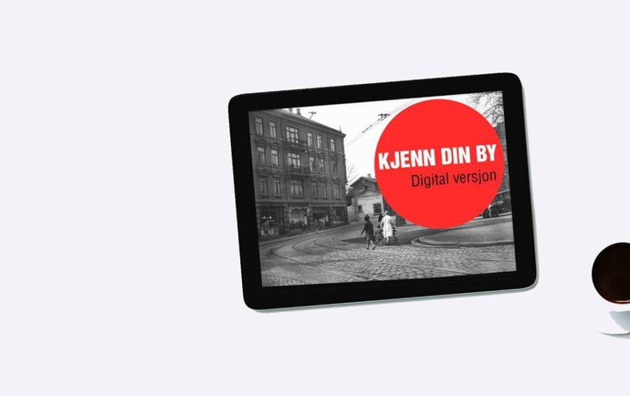 Byvandringer | Digitalt Kjenn din by-program hovedbilde