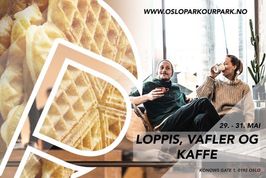 Loppis, vafler og kaffe – Oslo Parkour Park hovedbilde