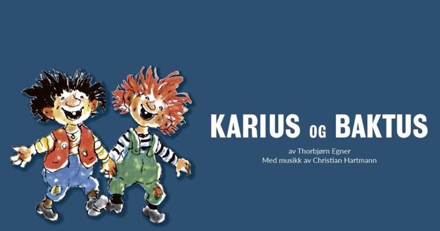Karius og Baktus på Hovedscenen hovedbilde