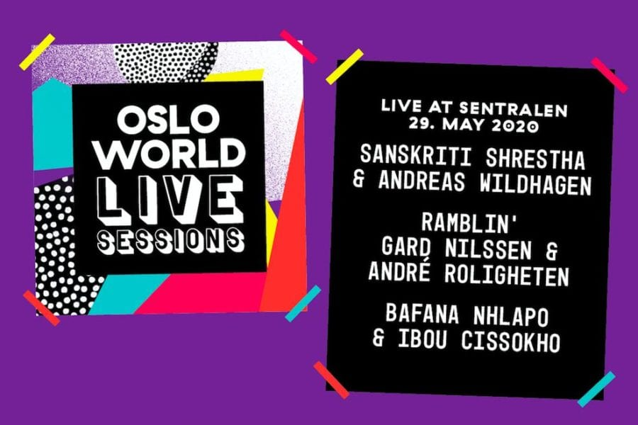 Eventbilde: Oslo World Live Sessions presenterer Rytmisk Duo