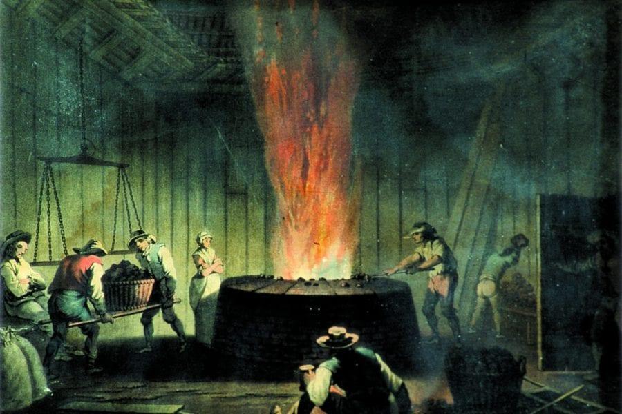 Eventbilde: Historisk vandring hos Bærums Verk