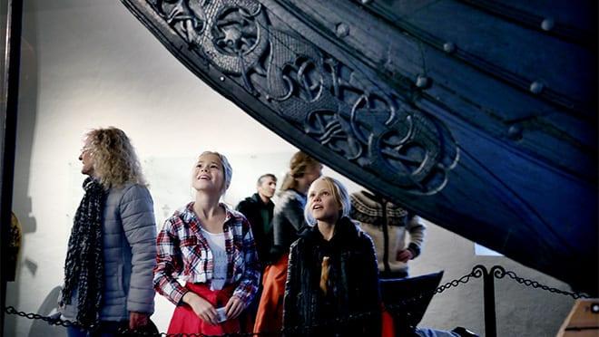 Sommeromvisninger om vikingskipene på Bygdøy hovedbilde