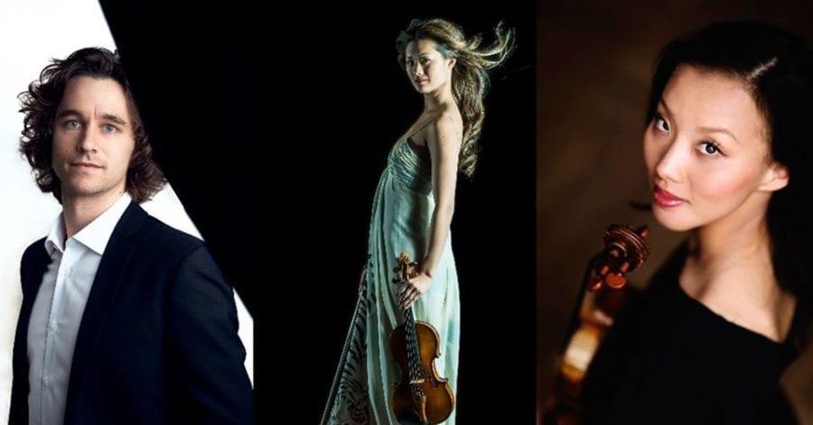 Eventbilde: Konsert i Roseslottet med Trio C.O.S