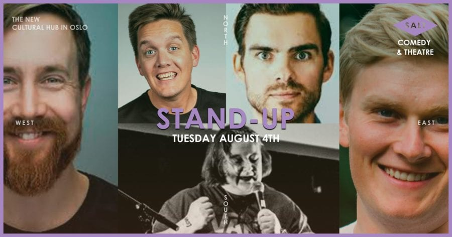 Eventbilde: Stand-up på SALT
