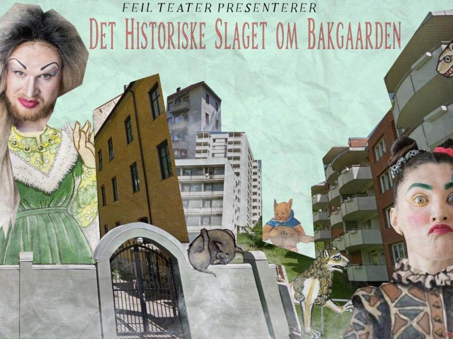 Gateteater: Det Historiske Slaget om Bakgaarden hovedbilde