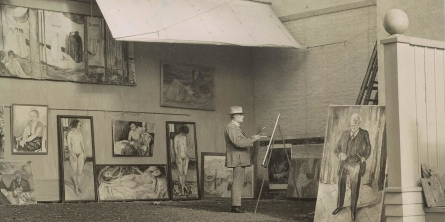 Eventbilde: Omvisning i Munchs hage