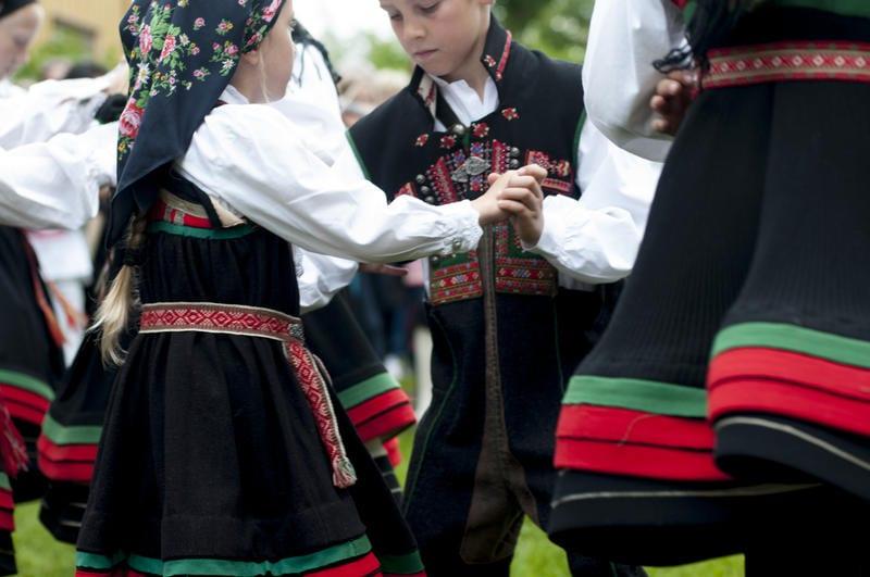 Eventbilde: Oppstartsuke hos Norsk Folkemuseums dansegruppe