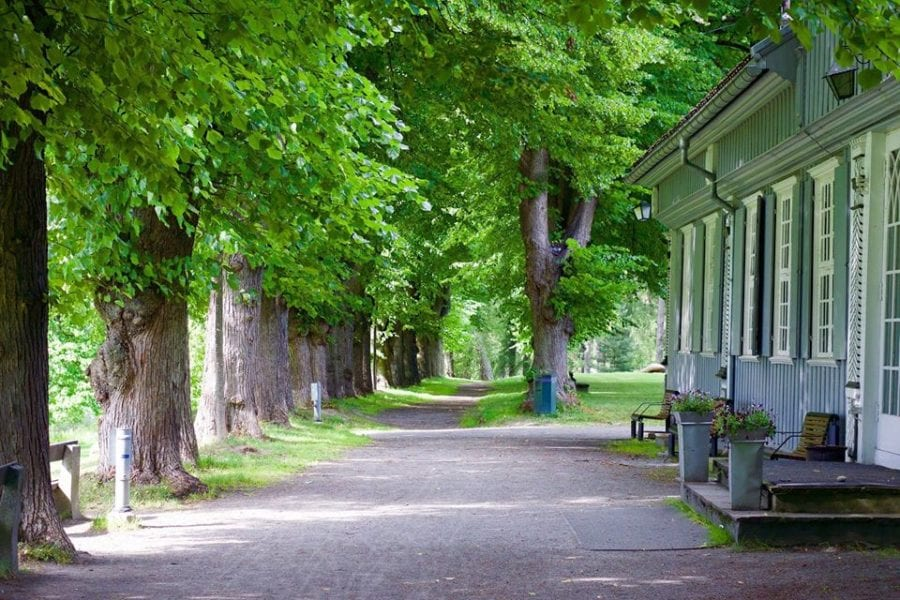 Familiedag på Nordre Skøyen hovedgård hovedbilde