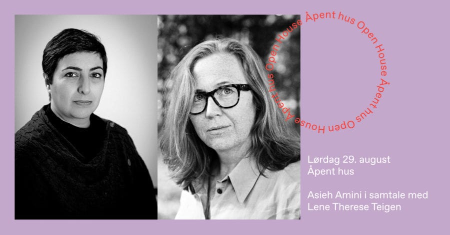 Asieh Amini i samtale med Lene Therese Teigen hovedbilde
