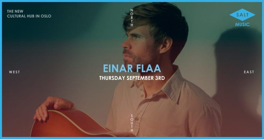 Einar Flaa – Releasekonsert hovedbilde