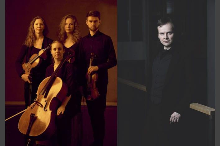 En sen kvartett – Vulkan Quartet og Tor Espen Aspaas hovedbilde