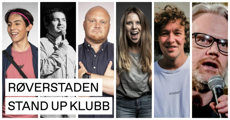 Eventbilde: Røverstaden Stand-up Klubb