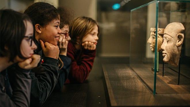 Eventbilde: Blant marmor og mumier: Barnas høstferie i Historisk museum