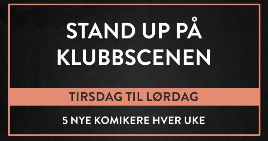 Eventbilde: Standup på Klubbscenen