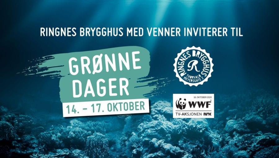 Ringnes Brygghus med venner inviterer til grønne dager! hovedbilde