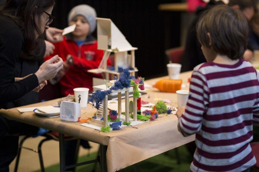 Eventbilde: Barnas Open House er tilbake på Sentralen!