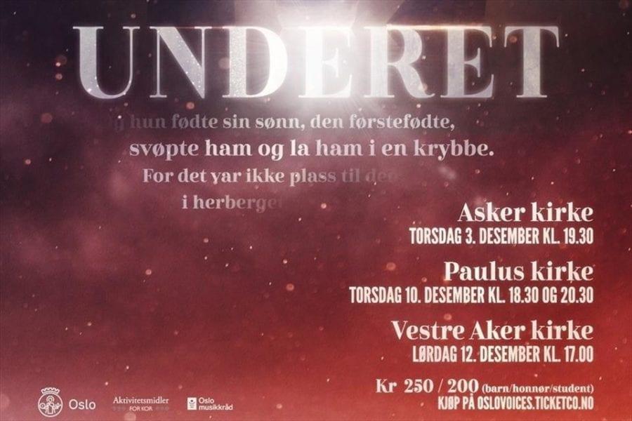 Eventbilde: Julekonsert med kammerkoret Oslo Voices