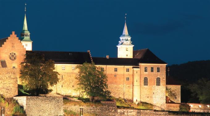 Lysvandring på Akershus Festning hovedbilde