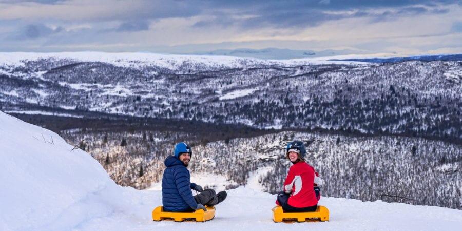 Opplev Norges lengste akebakke hos Dagali Fjellpark hovedbilde