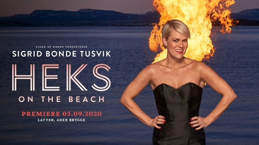 Eventbilde: Sigrid Bonde Tusvik – Heks on The Beach
