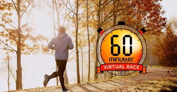 Eventbilde: 60 minutter virtuelt løp
