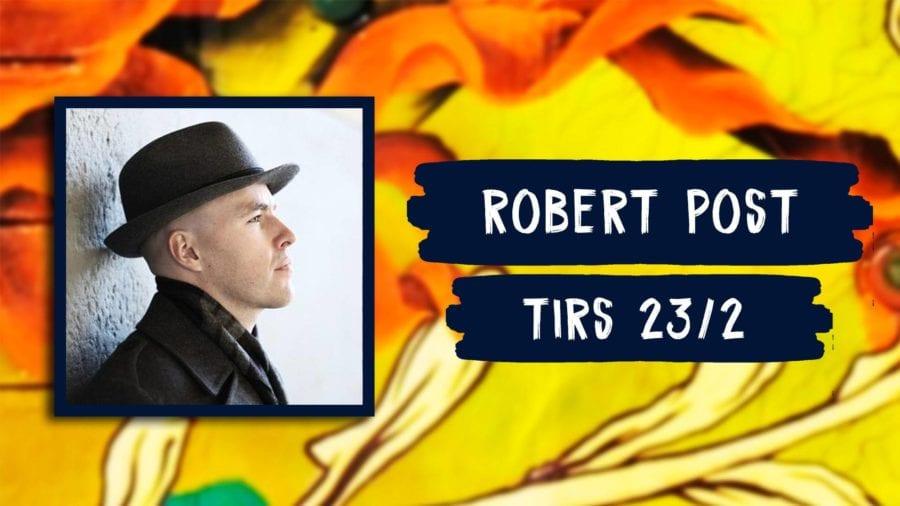 Robert Post // Live på MS Bjørvika hovedbilde