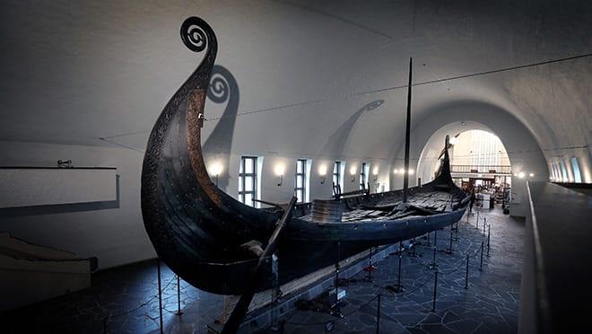 Omvisning på Vikingskipshuset hovedbilde