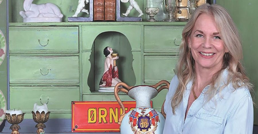 Vurdering av antikviteter med Ellen Ørnes på Hadeland Glassverk hovedbilde