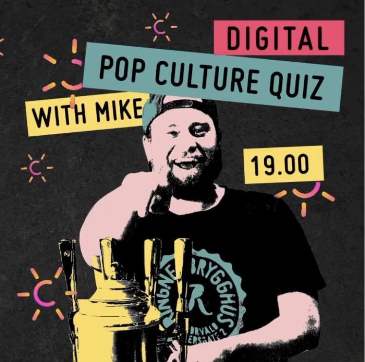 Eventbilde: Ringnes Brygghus digitale Pop Culture Quiz