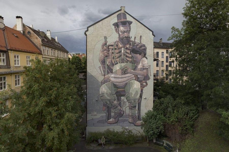 Eventbilde: Se Oslo gjennom øynene til en gatekunstner!