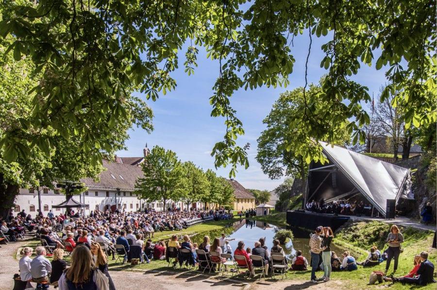 Karpedammen på Akershus Festning
