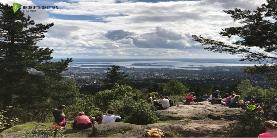 Eventbilde: Ut på tur med Ti på Topp Oslo!