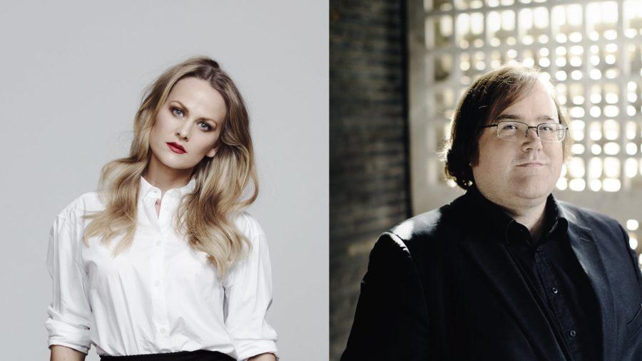 Eventbilde: Mari Eriksmoen & Christian Ihle Hadland i Bærum Kulturhus
