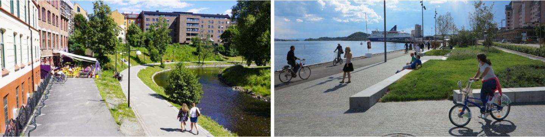 Akerselva til Havnepromenaden sykkel i Oslo