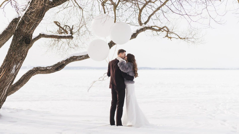 Vinterbryllup er et vakkert alternativ når bryllupslokaler i Oslo er fullbooket for sommeren