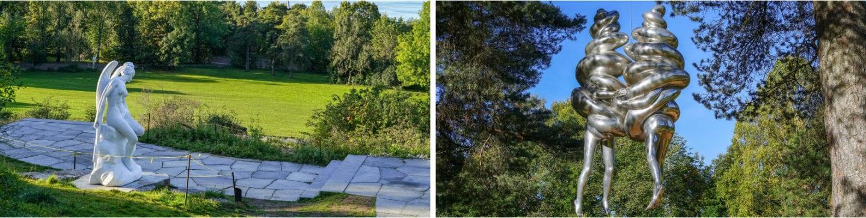 Ekeberg skulpturpark, parker i Oslo, romantiske parker i Oslo