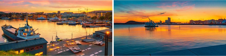 Havnepromenaden i oslo, fra Bjørvika til Bygdøy, fine turer i oslo