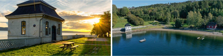 Hvervenbukta badesteder og strender i Oslo