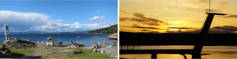 Ingierstrand badesteder og strender i Oslo