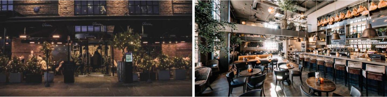 Olivia aker brygge romantiske barer i Oslo